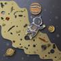"Paper Accents Cardstock Pad 8.5""x 11"" Metallic Pearl Assortment 24pc"