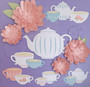 """Paper Accents Cardstock Pad 8.5""""x 11"""" Pastel Pearl Assortment 24pc"""
