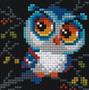 "Riolis Diamond Mosaic Kit 4""x 4"" Owl"