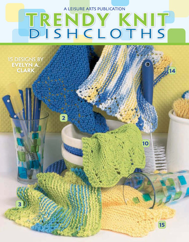 eBook Trendy Knit Dishcloths