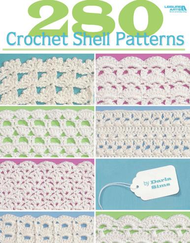 eBook 280 Crochet Shell Patterns