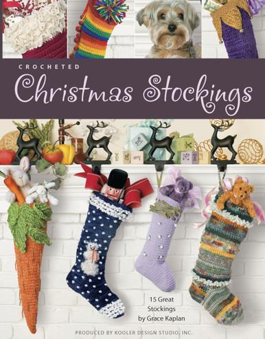 eBook Crocheted Christmas Stockings