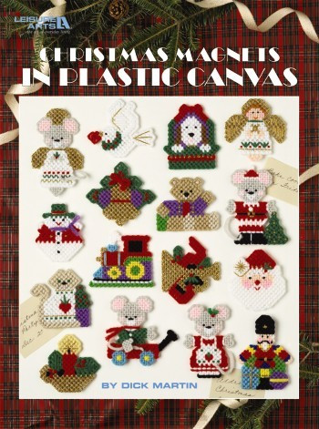 eBook Christmas Magnets in Plastic Canvas