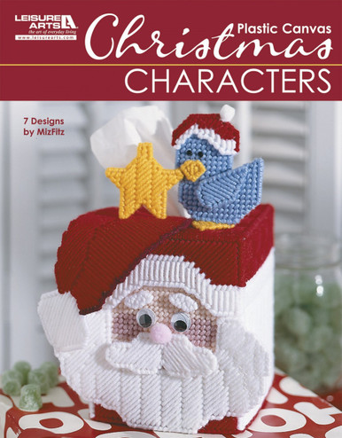 eBook Christmas Characters in Plastic Canvas