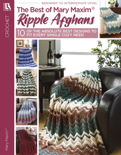 eBook Ripple Afghans: Best of Mary Maxim Crochet Patterns