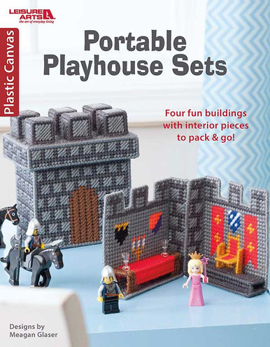 eBook Portable Playhouse Sets in Plastic Canvas