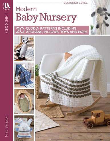 eBook Modern Baby Nursery Crochet Patterns for Baby