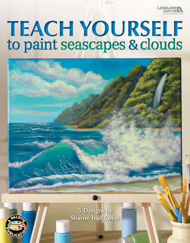 Teach Yourself to Paint Seascapes & Clouds