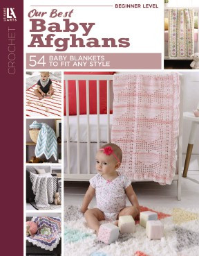 Leisure Arts Our Best Baby Afghans Book