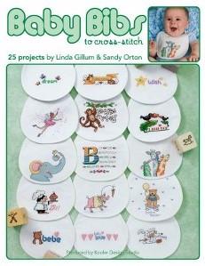 Leisure Arts Baby Bibs to Cross Stitch Book