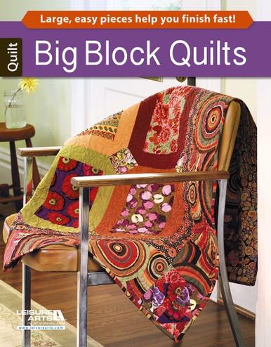 Leisure Arts Big Block Quilts Book