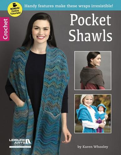 Leisure Arts Pocket Shawls Crochet Book