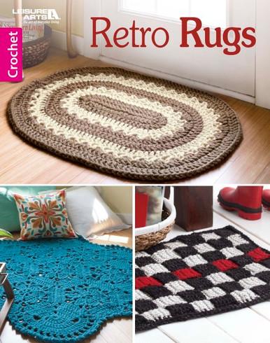 Leisure Arts Retro Rugs Book Crochet Patterns