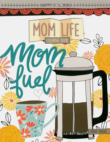 Leisure Arts Mom Life Coloring Book