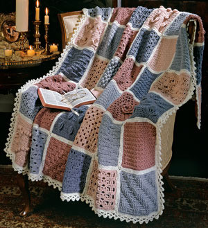 ePattern Scripture Afghan crochet pattern