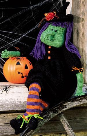 ePattern Tricksie The Witch Crochet Pattern