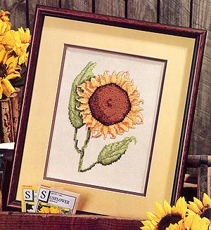 ePattern Sunflower Glory Cross stitch pattern