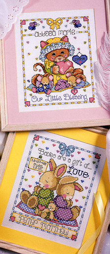ePattern Blessings & Love Samplers Cross Stitch