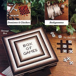 ePattern Games People Play plastic canvas pattern