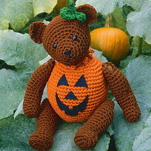 ePattern Halloween Bear Crochet Pattern