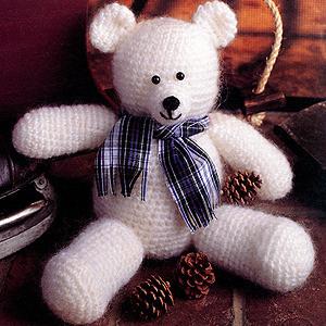 ePattern Winter White Bear