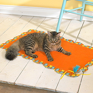ePattern Cat Blanket