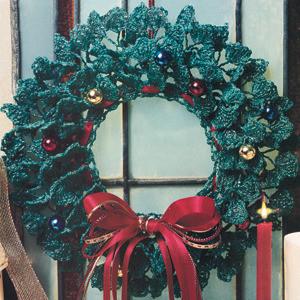 ePattern Evergreen Wreath Crochet Pattern