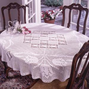 ePattern Spring Tulip Tablecloth