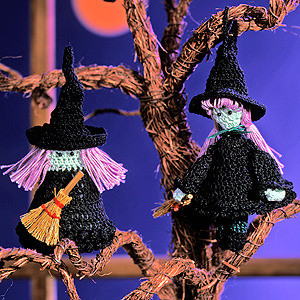 ePattern Winsome Witches crochet pattern