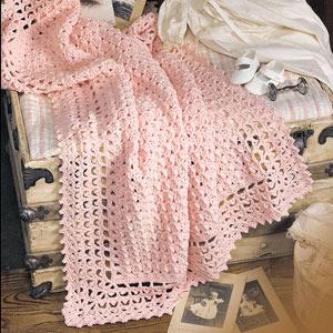 ePattern Very Victorian Baby Blanket