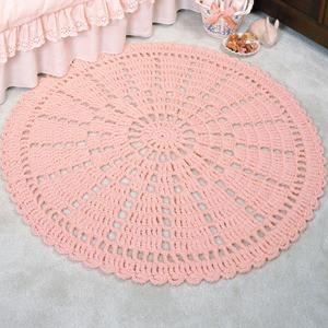 ePattern Wheel Lace Rug Crochet Pattern