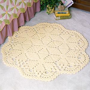 ePattern Motifs Lace Rug Crochet Pattern