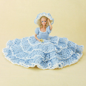 ePattern Fashion Doll Lacy-Ruffles Outfit