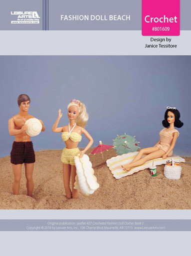 ePattern Fashion Doll Beach Outfits & Accessories