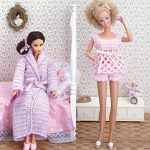 ePattern Fashion Doll Nightwear