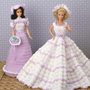 ePattern Fashion Doll Formals Crochet