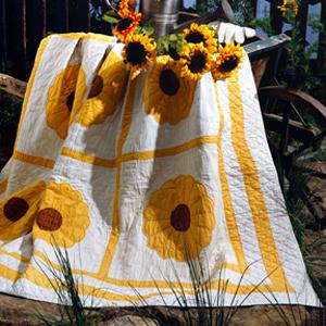 ePattern Sunflower Quilt pattern