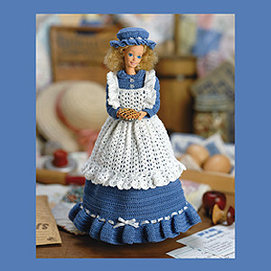 ePattern Country Dress for Fashion Dolls