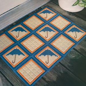ePattern Spring Showers Doormat