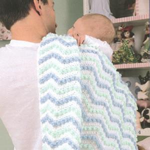 ePattern Sweet Dreams Baby Afghan