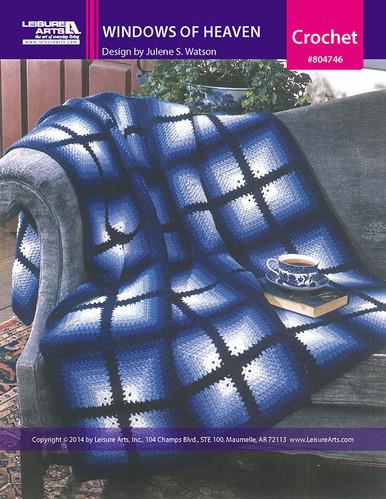 ePattern Windows of Heaven Afghan Crochet Pattern