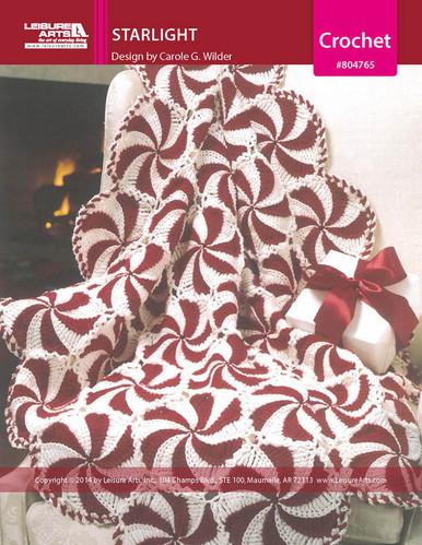 ePattern Starlight Afghan Crochet Pattern
