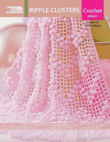 ePattern Ripple Clusters Crochet Pattern