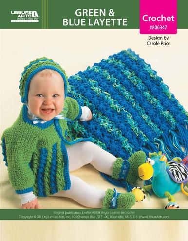 ePattern Green & Blue Layette