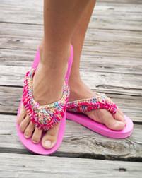 ePattern Flip Flop Tops Crochet pattern