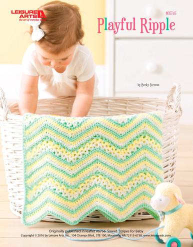 ePattern Playful Ripple Crochet Pattern
