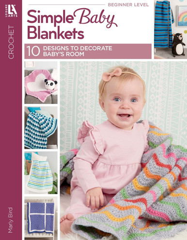 eBook Simple Baby Blankets - 10 Designs to Decorate Baby's Room