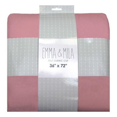 """Felt Light Pink 2 pack of 54""""x72"""""""