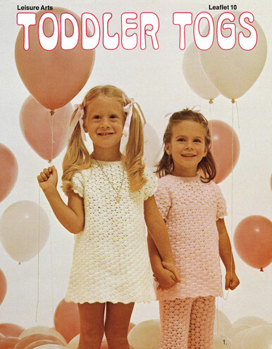 Leisure Arts Knit and Crochet Toddler Togs - Digital Pattern