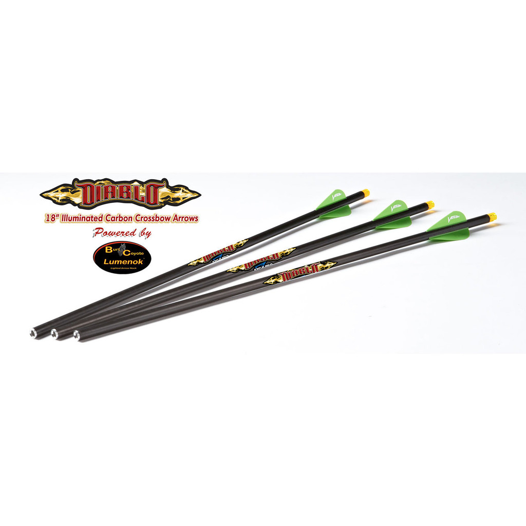 Excalibur Diablo Lighted Crossbow Bolts by Lumenock
